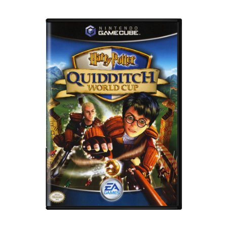 Jogo Harry Potter: Quidditch World Cup - GC - GameCube