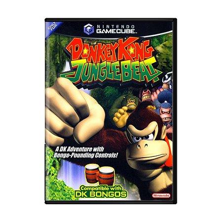 Jogo Donkey Kong: Jungle Beat - GC