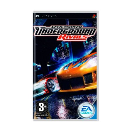 Jogo Need for Speed: Underground Rivals - PSP [Europeu]