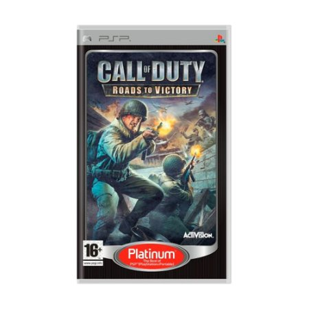 Jogo Call of Duty: Roads to Victory - PSP [Europeu]
