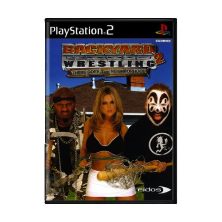 Jogo Backyard Wrestling 2: There Goes The Neighborhood [Japonês] - PS2