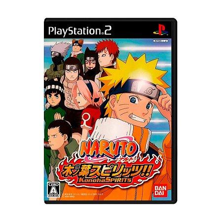 Jogo Naruto Konoha Spirits - PS2