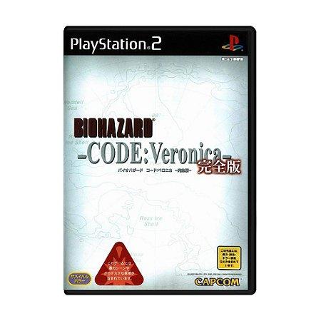 Jogo Resident Evil CODE: Veronica [Japonês] - PS2