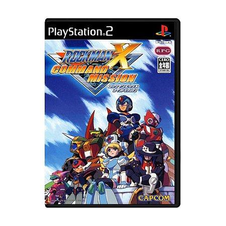 Jogo Rockman X: Command Mission [Japonês] - PS2