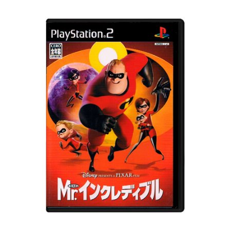 Jogo The Incridibles [Japonês] - PS2
