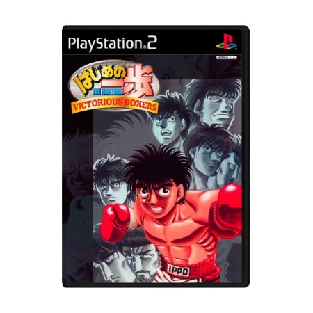 Jogo Victorios Boxers: Ippo's Road to Glory [Japonês] - PS2