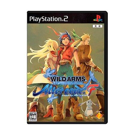 Jogo Wild Arms Alter Code F - PS2