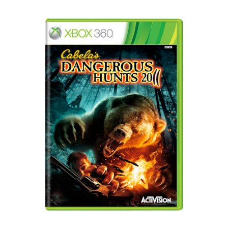 Jogo Cabela's Dangerous Hunts 2011 - Xbox 360