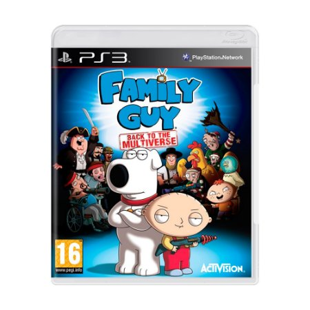 Jogo Family Guy: Back to The Multiverse - PS3 [Europeu]