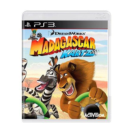 Jogo Madagascar Kartz - PS3