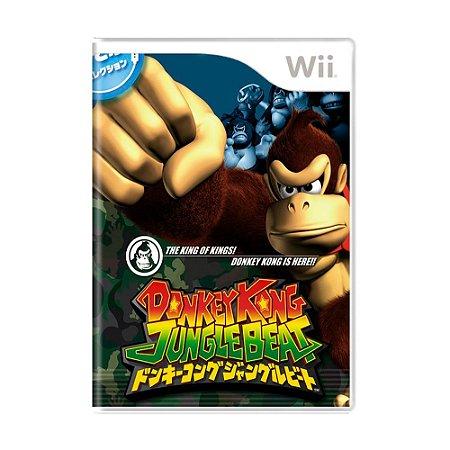 Jogo Donkey Kong Jungle Beat [Japonês] - Wii
