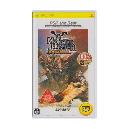 Jogo Monster Hunter Portable [Japonês] - PSP