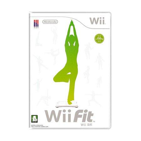 Jogo Wii Fit - Wii (Japonês)