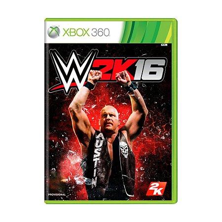 Jogo WWE 2K16 - Xbox 360