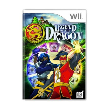 Jogo Legend of the Dragon - Wii