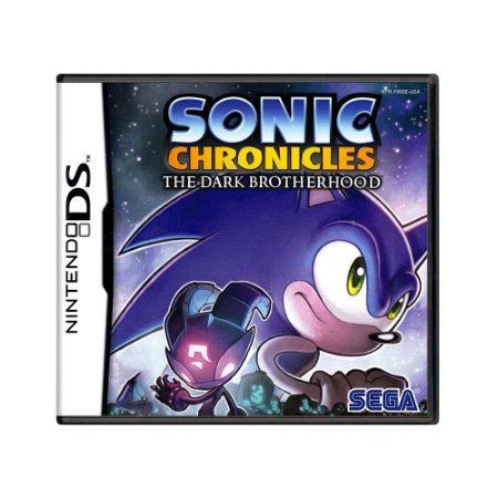Jogo Sonic Chronicles: The Dark Brotherhood - DS