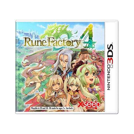 Jogo Rune Factory 4 - 3DS