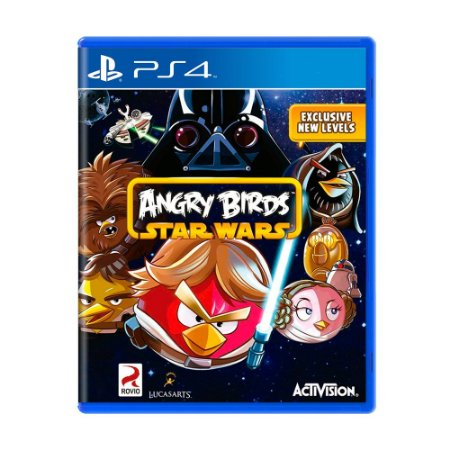 Jogo Angry Birds: Star Wars - PS4