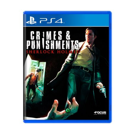 Jogo Crimes & Punishments: Sherlock Holmes - PS4
