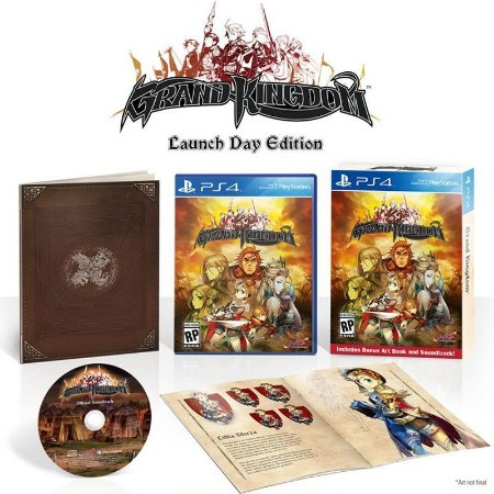 Jogo Grand Kingdom (Launch Day Edition) - PS4