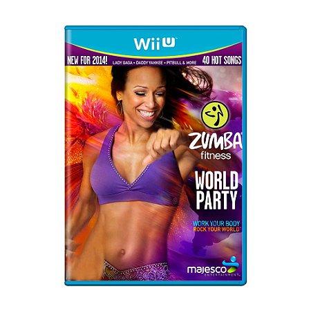 Jogo Zumba Fitness World Party + Zumba Fitness Belt - Wii U
