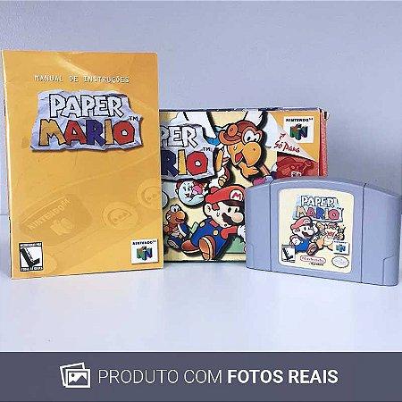 Jogo Paper Mario - N64