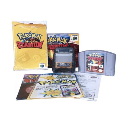 Jogo Pokémon Stadium + Transfer Pak - N64