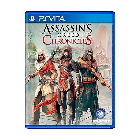 Jogo Assassin's Creed: Chronicles - PS Vita