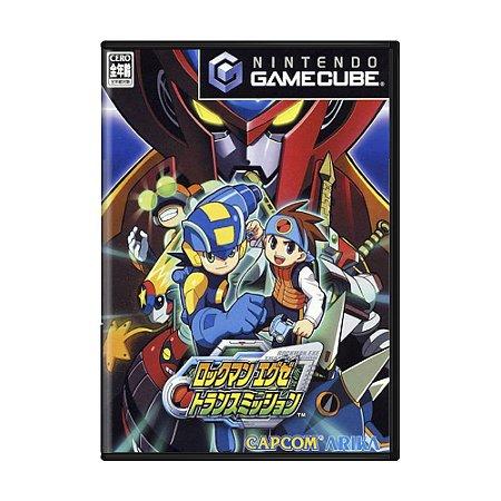 Jogo Mega Man Network Transmission - GC (Japonês)