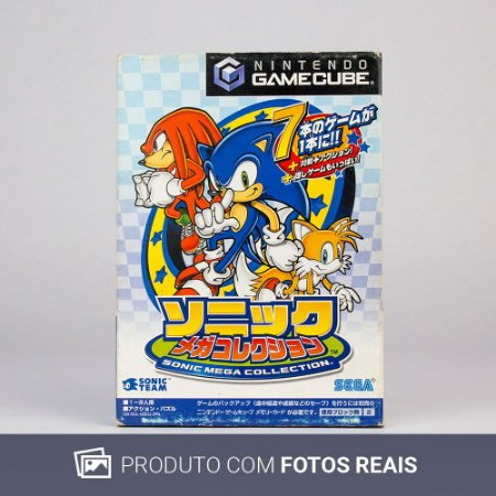 Jogo Sonic Mega Collection - GC