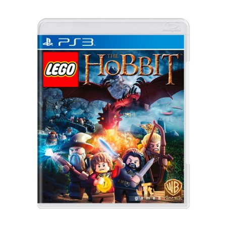 Jogo LEGO The Hobbit - PS3