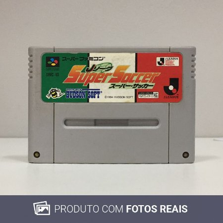 Jogo J.League Super Soccer - Super Famicom