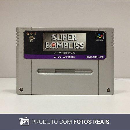 Jogo Super Bombliss - Super Famicom