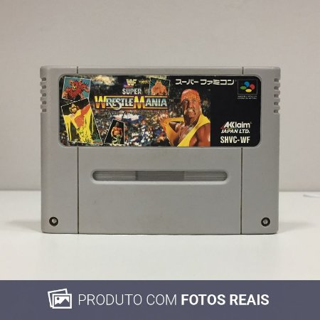 Jogo WWF Super WrestleMania - Super Famicom