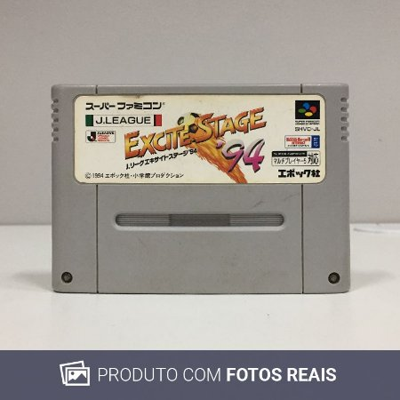 Jogo J.League Excite Stage '94 - Super Famicom