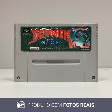 Jogo Drakkhen - Super Famicom