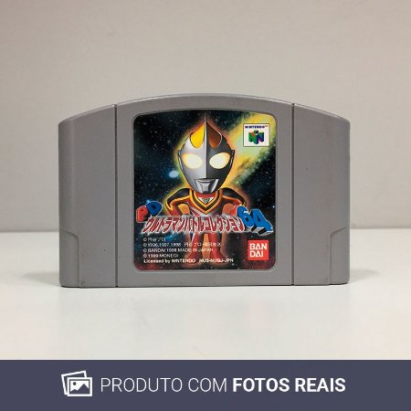 Jogo PD Ultraman Battle Collection 64 - N64 [Japonês]