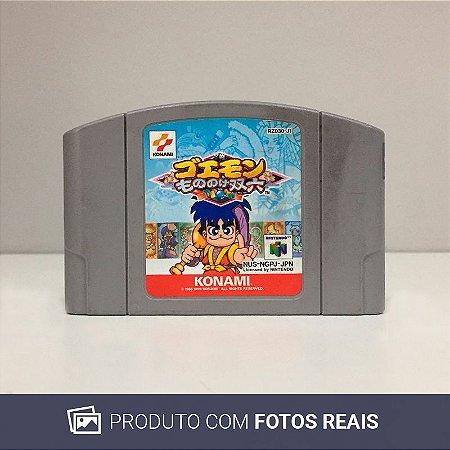 Jogo Goemon Mononoke Sugoroku - N64 [Japonês]