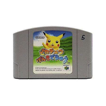 Jogo Hey You Pikachu (Genki Dechu) - N64