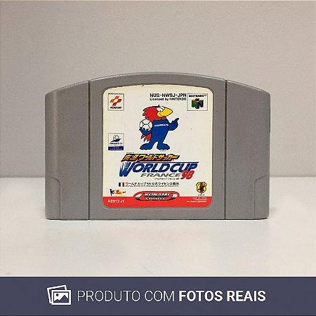 Jogo Jikkyou World Soccer: World Cup France '98 - N64 [Japonês]