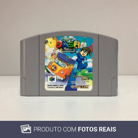 Jogo Rockman DASH: Hagane no Boukenshin - N64 [Japonês]