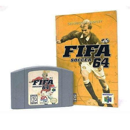 Jogo FIFA Soccer 64 - N64