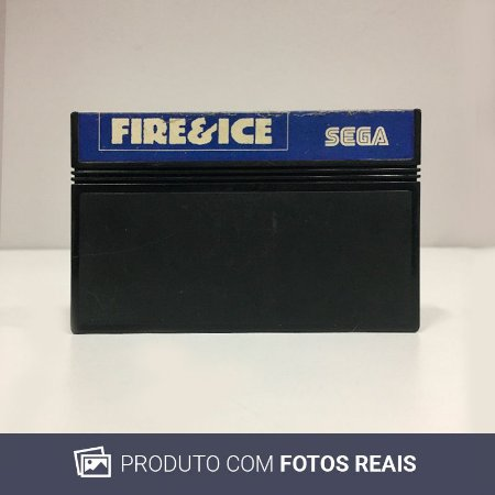 Jogo Fire and Ice - Master System