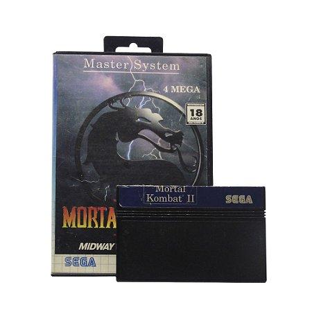 Jogo Mortal Kombat II - Master System