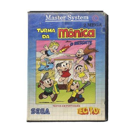 Jogo Turma da Mônica em: O Resgate - Master System