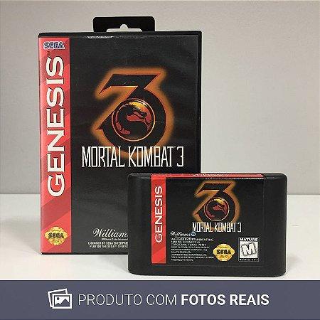 Jogo Mortal Kombat III - Genesis