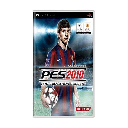 Jogo Pro Evolution Soccer 2010 (PES 10) - PSP