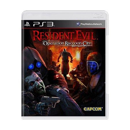 Jogo Resident Evil: Operation Raccoon City - PS3