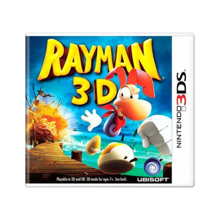 Jogo Rayman 3D - 3DS