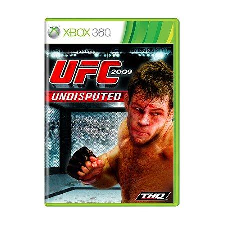 Jogo UFC Undisputed 2009 - Xbox 360